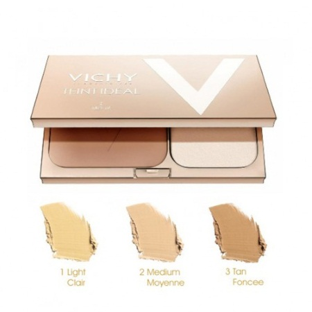 Vichy Τeint Ideal Illuminating Foundation Powder Tan No3 SPF25 Πούδρα 9.5gr