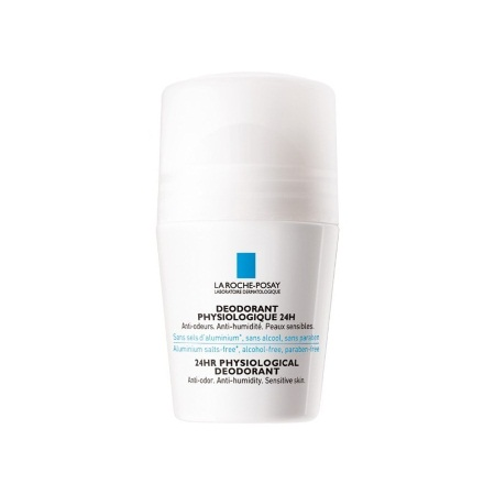 La Roche Posay Deodorant Physiologique Roll-On 24h Αποσμητικό Roll-On 24ωρης Δράσης 50ml