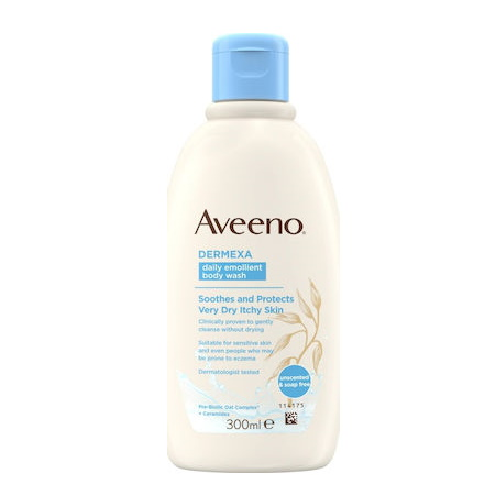 Aveeno Dermexa Emollient Body Wash 300 Ml