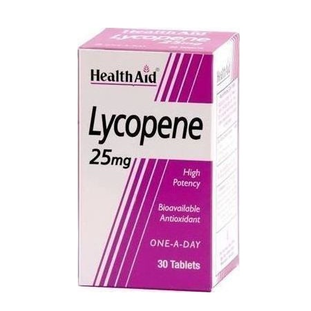 Health Aid Lycopene 25mg 30 ταμπλέτες