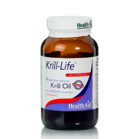Health Aid   Krilllife Krill Oil Ωμέγα 3 90caps