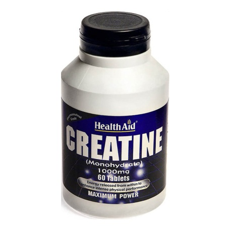 Health Aid Creatine Monohydrate 1000mg 60 Tabs