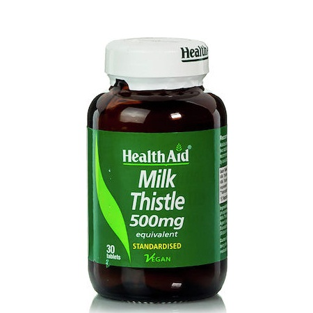 Health Aid Milk Thistle 500mg 30 ταμπλέτες