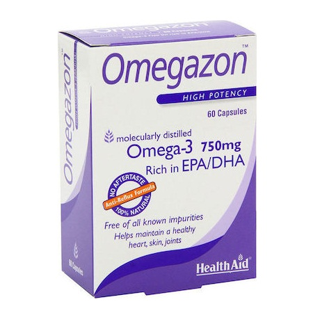 Health Aid Omegazon 750mg Blister 60caps