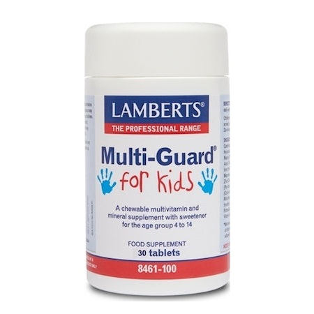 Lamberts Multi Guard for Kids Πολυβιταμίνες 30tabs