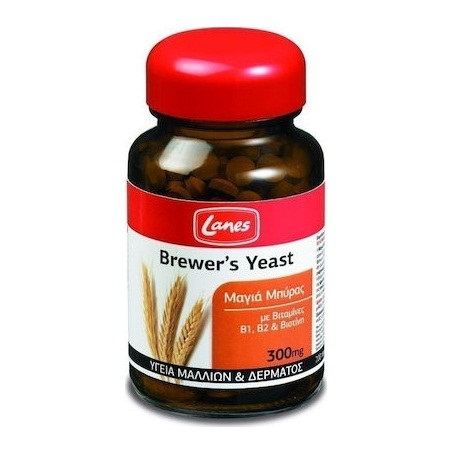 Lanes Brewers Yeast 300mg 200tabs