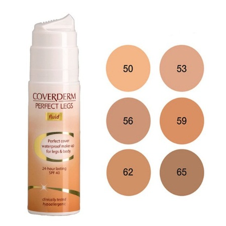 Coverderm Perfect Legs Fluid No65 75ml