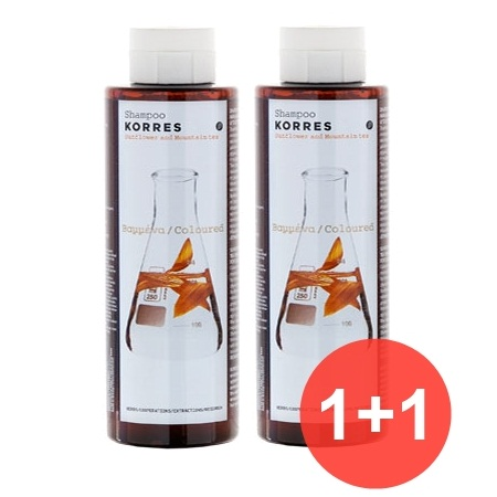 Korres Σαμπουάν Ηλίανθος & Τσάι Βουνού 250ml ΔΩΡΟ 1+1