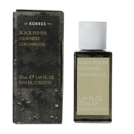 Korres Eau de Toilette Black Pepper Cashmere & Lemonwood Ανδρικό Άρωμα 50ml