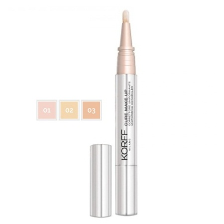 Korff Cure Make Up Uniforming Concealer σε μορφή στυλό No 03 2.5ml
