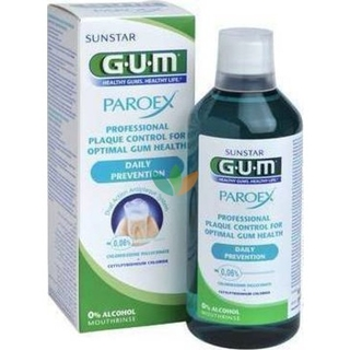 Gum 1702 Paroex Mouthrinse 0,06% Daily Prevention Στοματικό Διάλυμα 500ml