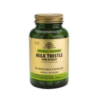 Solgar Milk Thistle Herb & Seed Extract 60 φυτικές κάψουλες