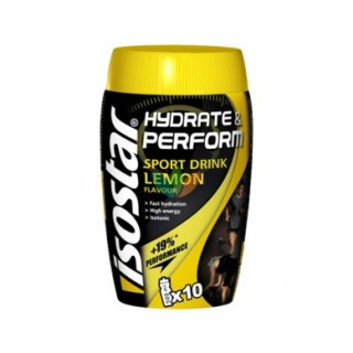 Isostar Hydrate & Perform Powder 400gr Λεμόνι