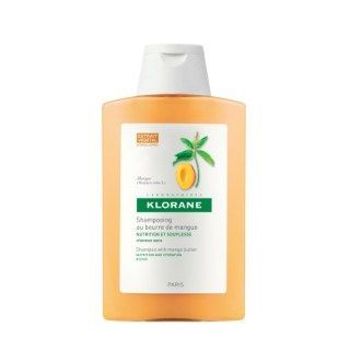 Klorane Nourishing Shampoo with Mango Butter Θεραπευτικό Σαμπουάν 200ml