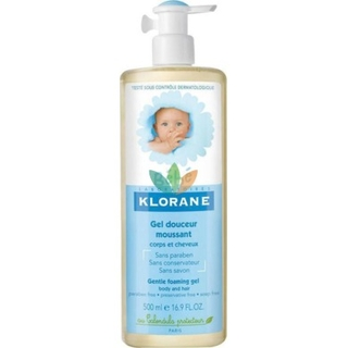 Klorane Bebe Gentle Foaming Gel - 500ml