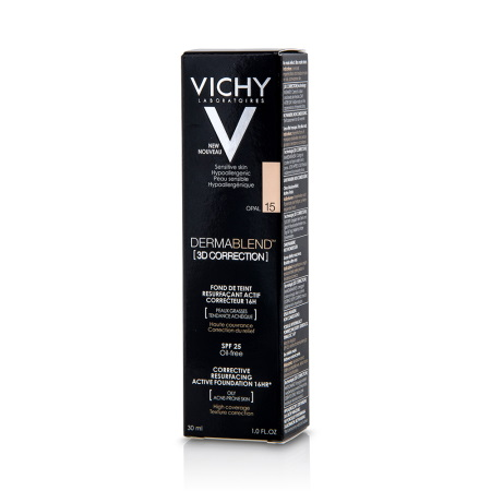 Vichy Dermablend 3D Make Up No15 Ενεργής Διόρθωσης 16 Ωρών 30ml
