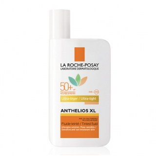 La Roche Posay Anthelios XL SPF50+ Tinted Fluid Ultra-Light Αντηλιακό Προσώπου με Χρώμα 50ml