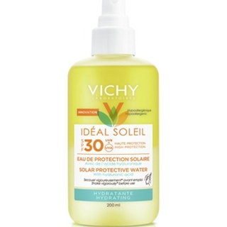 Vichy Ideal Soleil Hydrating Protective Solar Water SPF30 Αντιηλιακό Νερό Προστασίας & Ενυδάτωσης με Υαλουρονικό Οξύ 200ml