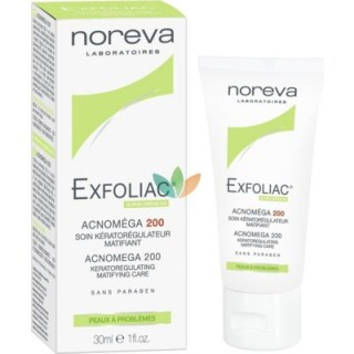 Noreva Exfoliac Acnomega 200 Keratoregulating Matifying Care 30ml
