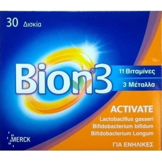 Merck Bion 3 Activate  30 δισκία