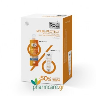 Roc Soleil Protect Anti-Brown Spot Unifying Fluid SPF50+ Αντιηλιακό Προσώπου κατά των Πανάδων 50ml
