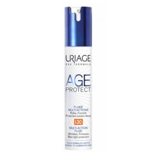 Uriage Age Protect Fluide Multi-Actions SPF30 Αντιγηραντική Λεπτόρρευστη Κρέμα Ημέρας 40ml
