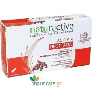 Naturactive Activ 4 Προστασία Ανοσοποιητικού Συστήματος 28 κάψουλες