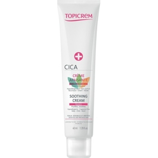 Topicrem Cica Soothing Cream Sensitive & Irritated Skin 40ml