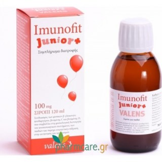 Imunofit Junior 100mg Σιρόπι 120ml