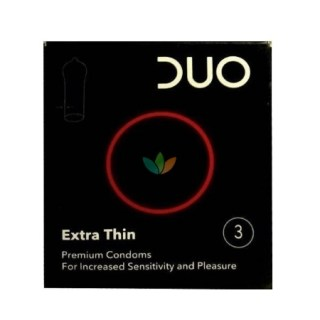 Duo Extra Thin Sensitive Προφυλακτικά 3τμχ