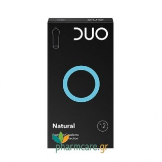 Duo Natural Προφυλακτικά Κανονικά 12τμχ