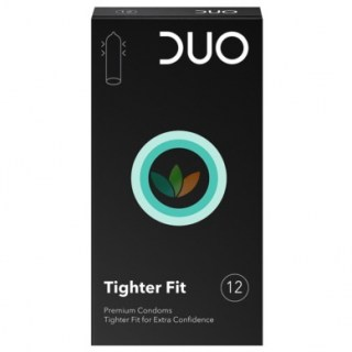 Duo Tighter Fit Προφυλακτικά Στενή Επαφή 12τμχ