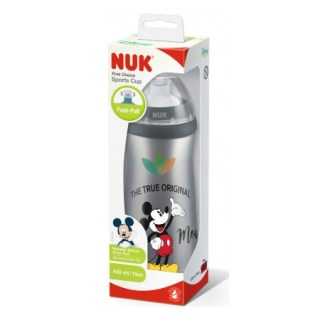Nuk First Choice PP Sports Cup Disney Mickey Παγουράκι με Καπάκι 450ml