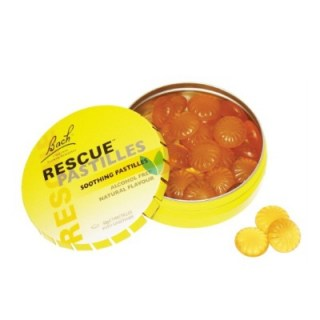 Power Health Bach Rescue Soothing Pastilles με Γεύση Πορτοκάλι 50gr