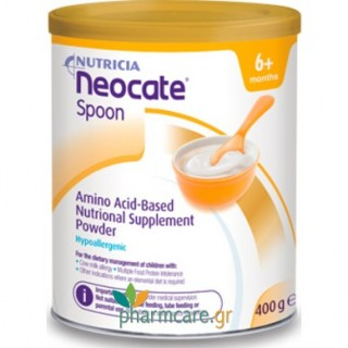Nutricia Neocate Spoon Γάλα 400gr