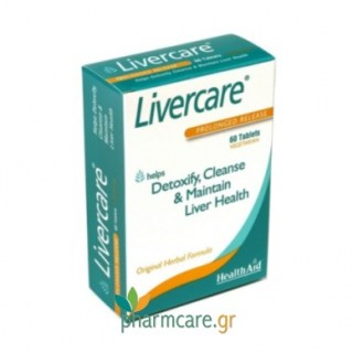 Health Aid Livecare - Herbal Liver Detox 60tabs
