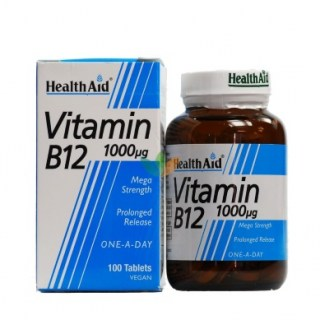 Health Aid Vitamin B2 Riboflavin One a Day Βιταμίνη Β2 60 ταμπλέτες