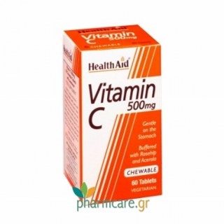 Health Aid Vitamin C 500mg 60Chewable Tabs