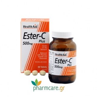 Health Aid Ester C 500Mg Tablets 60tabs