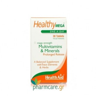 Health Aid Healthy Mega Multivitamins P.R. 30tabs