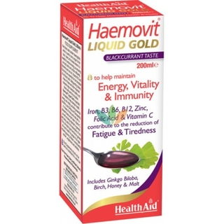 Health Aid Haemovit Liquid Gold 200 Ml