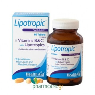 Health Aid Lipotropic Two-A-Day 60tabs