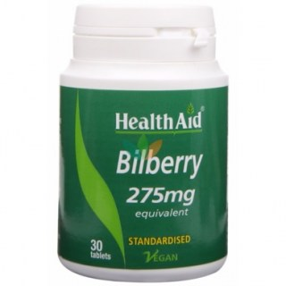 Health Aid Bilberry 275mg 30 ταμπλέτες
