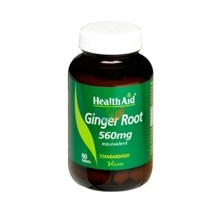 Health Aid Ginder Root 560mg 60 Tabs