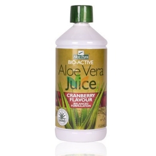 Optima Aloe Vera Juice With Cranberry 1000 Ml