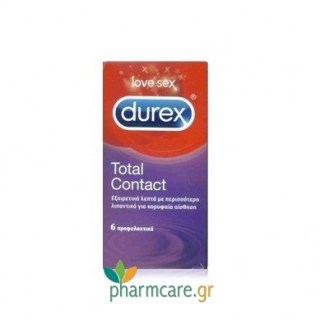 Durex Total Contact 6τμχ
