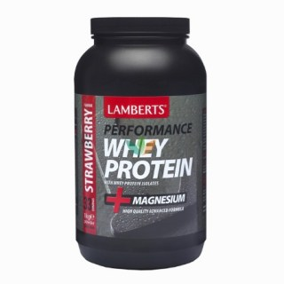 Lamberts Whey Protein Strawberry Πρωτεΐνη ορού γάλακτος 1000gr