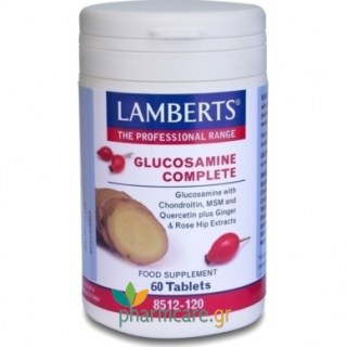 Lamberts Glucosamine Complete 60 ταμπλέτες