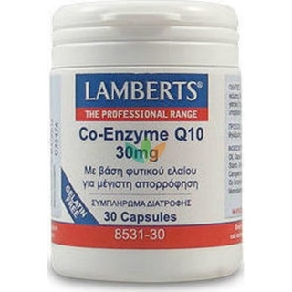 Lamberts Co-enzyme Q10 30mg 30caps