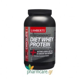 Lamberts Performance Diet Whey Protein Με γεύση σοκολάτας 1kg